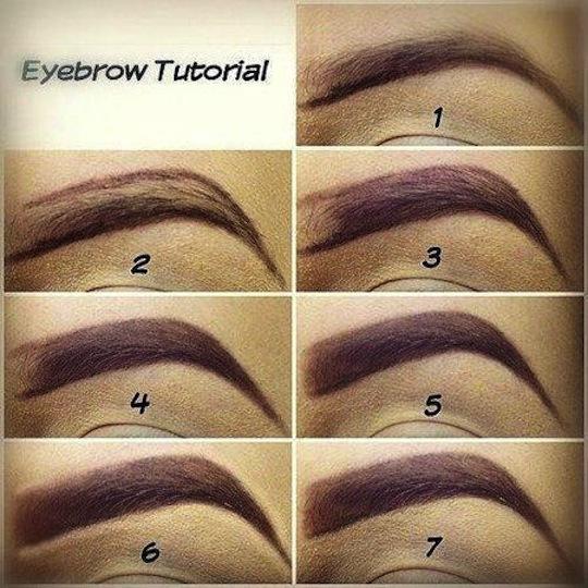 perfect eyebrow shape perfect eyelashes blog