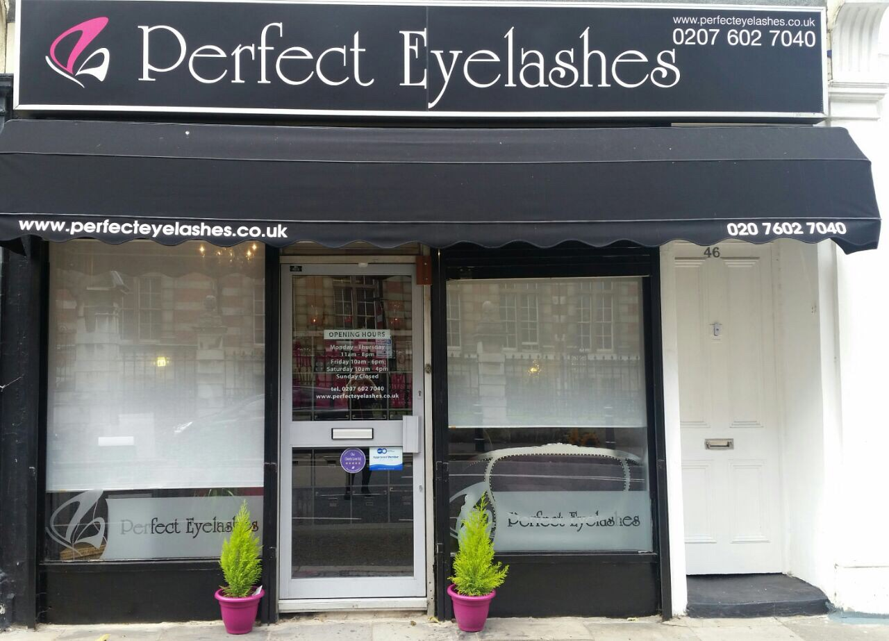 perfect eyelashes salon