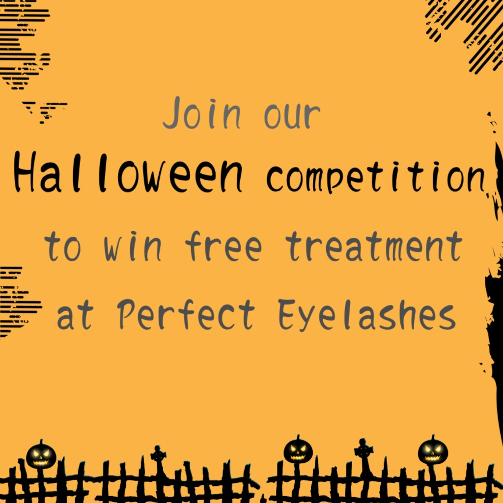 halloween at perfect eyelashes