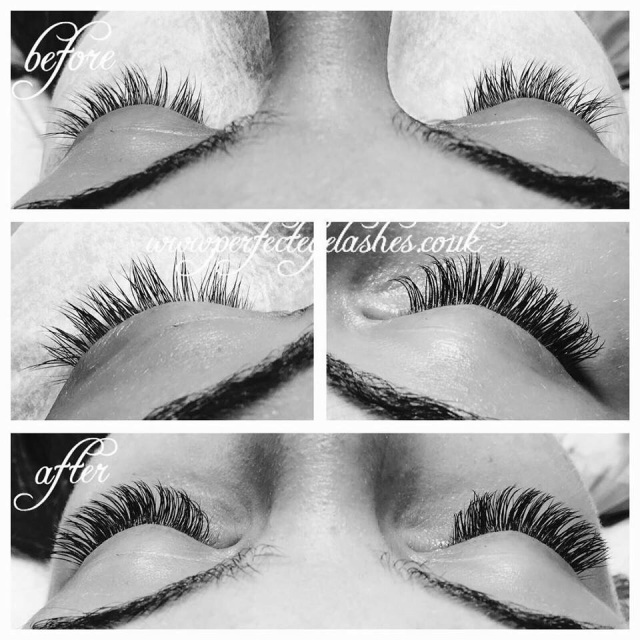 infills in perfect eyelashes