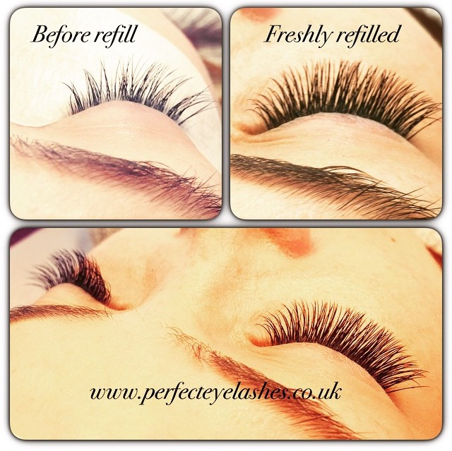 infills perfect eyelashes