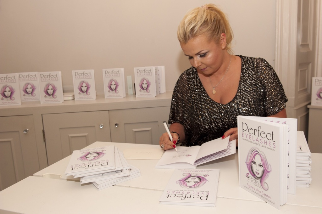 Perfect Eyelashes Book Launch Agnes dos Santos